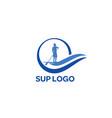 sup-logo vector image