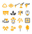 sweet icon vector image