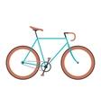Vintage bicycle flat vector image vector image