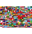 all flags of all countries in one vector image