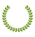 laurel crown icon imag vector image