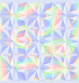 abstract holographic geometric seamless pattern vector image vector image