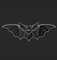 bat logo icon design vector image vector image