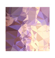 Chinese Violet Abstract Low Polygon Background vector image vector image
