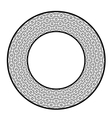 Circle Geometric Ornament vector image vector image
