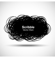 Hand Drawn Scribble Shape vector image vector image