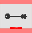 key icon keys symbol flat design vector image vector image