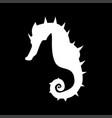 seahorse it is icon vector image vector image