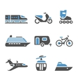 Transport Icons - A set of fifth vector image