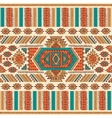 Tribal Mexican ethnic seamless vector image vector image