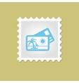 Credit Card stamp vector image