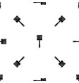 paint brush pattern seamless black vector image vector image