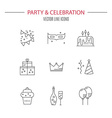 Party and Celebration vector image