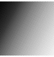 retro halftone gradient circle background vector image