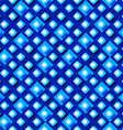 seamless pattern from paper rhombus on a blue vector image vector image