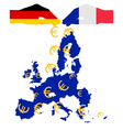 Subsidies for europe vector image vector image