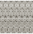 seamless tribal pattern Hand drawn vector image