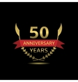 50 Anniversary years vector image vector image