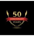 50 Anniversary years vector image