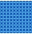 Circle blue seamless pattern vector image vector image