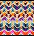 Ethnic chevron pattern vector image vector image