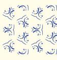 minimalistic ethnic seamless pattern vector image
