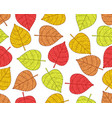 plant leaves pattern vector image vector image