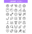 sport tools and equipment vector image