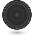 Audio speaker app icon vector image