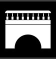 bridge it is icon vector image