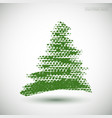 christmastree vector image