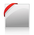 Document template with red ribbon