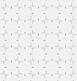 Dot textured pattern with small gray details vector image