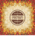 Geometric Vintage Background vector image vector image