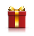gift box icon surprise present red-gold template