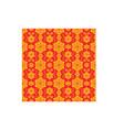line thai thailand art continuous pattern culture vector image vector image
