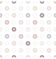 Seamless pattern of geometric elemen vector image vector image