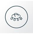 bracelet icon line symbol premium quality vector image vector image