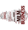 evaluate a mlm business lead text background word vector image vector image