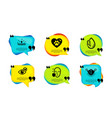face protection no alcohol and pets care icons vector image vector image