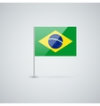 Flag of Brazil vector image
