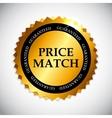 Price Match Label vector image