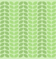 seamless decorative leaf pattern design vector image