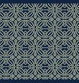 seamless pattern in bali batik style vector image vector image