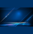 speed and motion blur over dark blue background 4 vector image vector image