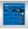 website home page template vector image vector image