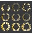 wreaths vector image