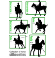 al 0730 horse vector image