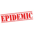 epidemic sign or stamp vector image vector image