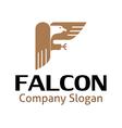 Falcon Design vector image